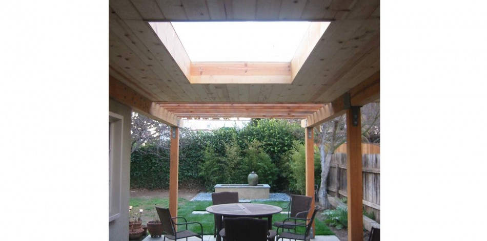 Asian patio cover